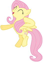 Size: 7000x10100 | Tagged: safe, artist:tardifice, fluttershy, pony, absurd resolution, cute, open mouth, shyabetes, simple background, solo, transparent background, vector
