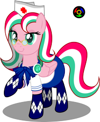 Size: 2433x2974 | Tagged: safe, artist:kyoshyu, oc, oc:shuri cane, pegasus, pony, legends of equestria, clothes, female, glasses, high res, mare, simple background, solo, transparent background