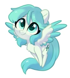 Size: 589x658 | Tagged: safe, artist:colorfulcolor233, oc, oc only, oc:yokuro, pegasus, pony, china, colored wings, colored wingtips, cute, female, looking up, mare, mascot, solo, spread wings, tianfu bronycon, upscaled, wings