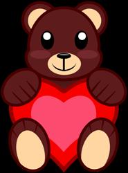 Size: 1377x1860   Tagged: safe, artist:amgiwolf, oc, oc only, oc:oranita, cutie mark, cutie mark only, heart, no pony, simple background, teddy bear, transparent background