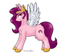Size: 1280x1069 | Tagged: safe, artist:sunshmallow, pipp, pegasus, pony, female, g5, signature, simple background, solo, transparent background, unshorn fetlocks