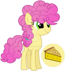 Size: 1024x1112 | Tagged: safe, artist:auroranovasentry, li'l cheese, pony, the last problem, deviantart watermark, obtrusive watermark, older, simple background, solo, teenager, transparent background, watermark