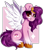 Size: 2044x2352   Tagged: safe, artist:woonborg, pipp petals, pegasus, pony, g5, abstract background, chest fluff, eyelashes, female, high res, looking at you, simple background, sitting, solo, transparent background, unshorn fetlocks