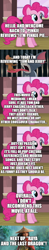 Size: 500x2570   Tagged: safe, edit, edited screencap, screencap, pinkie pie, comic:pinkie reviews, comic, movie review, raya and the last dragon, screencap comic, tom and jerry