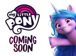 Size: 902x671 | Tagged: safe, izzy moonbow, spoiler:g5, g5, my little pony logo, solo