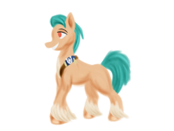 Size: 800x600 | Tagged: safe, artist:rockhoppr3, hitch trailblazer, earth pony, pony, g5, male, solo, stallion, unshorn fetlocks