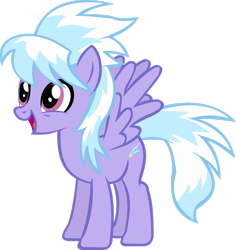 Size: 2381x2519 | Tagged: safe, artist:thebosscamacho, cloudchaser, pegasus, pony, hurricane fluttershy, cute, female, mare, open mouth, simple background, solo, transparent background, vector