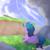 Size: 1700x1700 | Tagged: safe, artist:glazirka, izzy moonbow, pony, unicorn, butt, female, g5, izzy moonbutt, mare, plot, solo