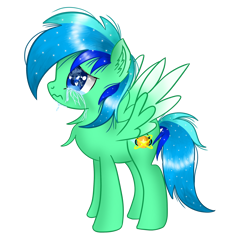 Size: 2000x2000 | Tagged: safe, artist:jadebreeze115, edit, vector edit, oc, oc only, oc:jade breeze, pegasus, pony, base used, chest fluff, crying, looking up, male, sad, shading, simple background, solo, transparent background, vector, vent art, wing spreading