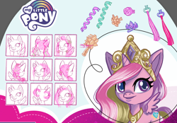 Size: 1000x696 | Tagged: safe, artist:vanessa mack, princess cadance, pony, my little pony: pony life, concept art, official, toy