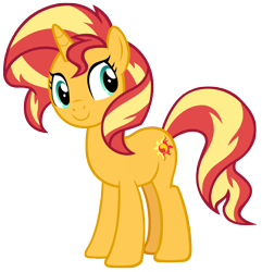 Size: 7050x7300   Tagged: safe, artist:andoanimalia, sunset shimmer, pony, unicorn, equestria girls, equestria girls series, forgotten friendship, cute, female, mare, shimmerbetes, simple background, transparent background, vector
