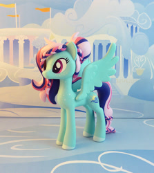 Size: 848x950 | Tagged: safe, artist:krowzivitch, oc, oc:noontime breeze, pegasus, pony, female, figurine, irl, mare, photo, solo