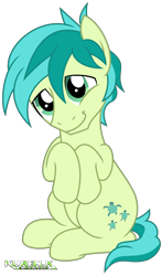 Size: 2000x3391   Tagged: safe, artist:kuren247, sandbar, earth pony, pony, adorable face, cute, head tilt, hooves to the chest, male, puppy dog eyes, sandabetes, simple background, sitting, smiling, solo, stallion, transparent background