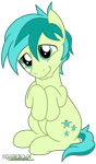 Size: 2000x3391 | Tagged: safe, artist:kuren247, sandbar, earth pony, pony, adorable face, cute, head tilt, hooves to the chest, male, puppy dog eyes, sandabetes, simple background, sitting, smiling, solo, stallion, transparent background