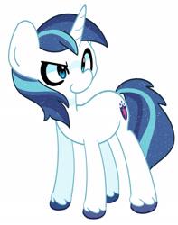 Size: 1596x2027 | Tagged: safe, artist:kindakismet, shining armor, pony, unicorn, male, smiling, solo, stallion