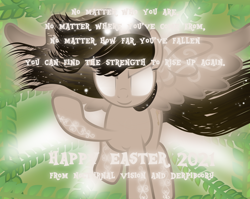 Size: 8649x6896 | Tagged: safe, artist:lincolnbrewsterfan, derpibooru exclusive, oc, oc only, oc:nocturnal vision, alicorn, pony, .svg available, 2021, alicorn oc, alternate design, anastasis, apotheosis, ascension, aura, body markings, celebration, colored wings, determination, determined, determined face, determined look, determined smile, easter, easter 2021, embellishing, equestria font, ethereal hair, ethereal mane, ethereal tail, female, floating, flourishes, flowing hair, flowing mane, flowing tail, flying, font, glow, glowing body, glowing eyes, glowing horn, glowing tail, gradient background, gradient wings, hair, happy easter 2021, holiday, horn, light beams, light bearer, long hair, long mane, long tail, looking at you, magic, magic aura, magic glow, magic overload, mane, mare, markings, motivational, nc-tv, nc-tv:creator ponified, olive branch, ponified, positive message, positive ponies, postcard, raised hoof, realistic, realistic mane, resurrection, shine, shining, shiny, sigils, simple background, smiling, smiling at you, svg, swirls, swirly markings, tail, text, the fourth wall cannot save you, vector, wall of tags, wallpaper, white eyes, wing markings, wings