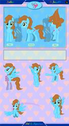Size: 6751x12301 | Tagged: safe, artist:kyoshyu, oc, oc:fallen, pegasus, pony, absurd resolution, butt, clothes, female, mare, plot, reference sheet, socks, solo