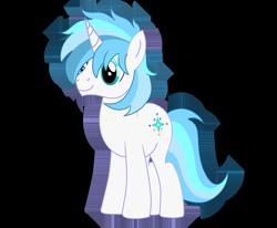 Size: 1750x1440   Tagged: safe, artist:jadebreeze115, oc, oc only, oc:winter light, unicorn, base used, blue eyes, fanart, gift art, horn, simple background, snow, solo, standing, transparent background, unicorn oc, white pony