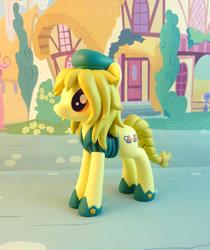 Size: 799x950   Tagged: safe, artist:krowzivitch, oc, oc:marigold, earth pony, pony, female, figurine, irl, mare, photo, solo