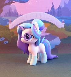 Size: 699x750   Tagged: safe, artist:krowzivitch, oc, oc:comet, pony, unicorn, figurine, irl, photo, solo