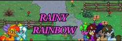 Size: 720x245   Tagged: safe, artist:altersmay87, oc, oc only, oc:audrey clarissa, oc:harmony star, oc:princess argenta, oc:rainy rainbow, alicorn, earth pony, pony, unicorn, pony town, argentina, coffee cup, cup, dergunstown, female, logo, logo edit, male, nation ponies, ponified, skull face, youtube banner