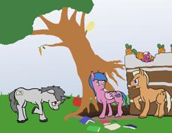 Size: 3300x2550 | Tagged: safe, oc, earth pony, pegasus, pony, unicorn