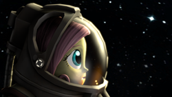 Size: 3840x2160 | Tagged: safe, artist:iruser, fluttershy, equestria girls, 3d, source filmmaker, space, spacesuit