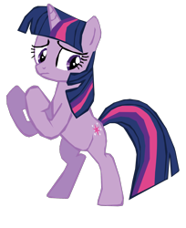 Size: 1280x1571 | Tagged: safe, artist:benpictures1, part of a set, twilight sparkle, pony, unicorn, dragon quest, bipedal, female, fighting stance, inkscape, simple background, solo, transparent background, unicorn twilight, vector