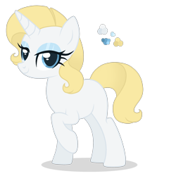 Size: 2400x2500 | Tagged: safe, artist:magicuniclaws, oc, pony, unicorn, female, mare, offspring, parent:prince blueblood, parent:rarity, parents:rariblood, simple background, solo, transparent background