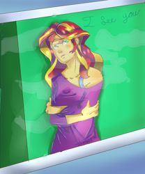 Size: 1080x1296 | Tagged: safe, artist:beyond_inside, sunset shimmer, equestria girls, clothes, female, solo