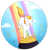 Size: 1024x1077   Tagged: safe, artist:foxhatart, oc, oc only, oc:honey, pony, unicorn, coin, cute, female, mare, ocbetes, pot of gold, solo