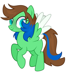 Size: 2333x2330 | Tagged: safe, artist:reptaurdrawsmlp, oc, pegasus, pony, female, mare, simple background, solo, transparent background, two toned wings, wings