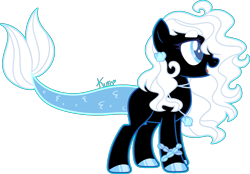 Size: 2359x1644 | Tagged: safe, artist:kurosawakuro, oc, earth pony, augmented tail, female, simple background, solo, transparent background