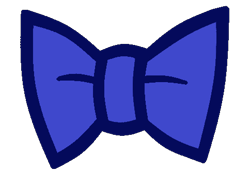 Size: 484x360   Tagged: safe, artist:disneymarvel96, prince blueblood, accessory, bow, bowtie, clothes, no pony, object, prince blueblood's bowtie, resource, simple background, transparent background, vector