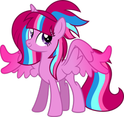 Size: 6202x5842 | Tagged: safe, artist:digimonlover101, oc, oc:bubble sparkle, alicorn, pony, absurd resolution, female, mare, simple background, solo, transparent background