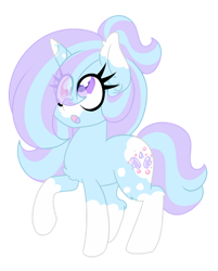 Size: 1280x1595 | Tagged: safe, artist:ladylullabystar, oc, oc:bubble tea, pony, unicorn, female, mare, simple background, solo, transparent background