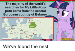 Size: 500x339 | Tagged: safe, twilight sparkle, belarus, europe, map