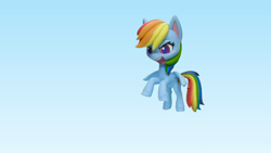 Size: 1920x1080 | Tagged: safe, screencap, rainbow dash, pony, my little pony: stop motion short, pillow fight (short), pony life, pillow, solo, stop motion