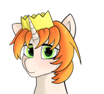 Size: 2000x1800 | Tagged: safe, artist:lightnys, oc, oc only, oc:etoz, pony, unicorn, closed mouth, eyes open, female, green eyes, looking at you, mare, open eyes, simple background, solo, three quarter view, transparent background