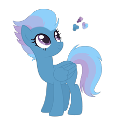 Size: 2700x2620 | Tagged: safe, artist:magicuniclaws, oc, pegasus, pony, female, magical lesbian spawn, mare, offspring, parent:night glider, parent:rainbow dash, parents:nightdash, simple background, solo, transparent background