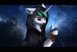 Size: 2560x1744 | Tagged: safe, artist:megabait, oc, oc only, pony, unicorn, assassin, blade, clothes, dagger, hooves, male, originalcharacter, robe, solo, weapon