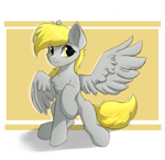 Size: 973x944 | Tagged: safe, artist:d.w.h.cn, derpy hooves, pegasus, pony, cheek fluff, chest fluff, cute, derpabetes, ear fluff, solo, underp