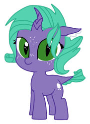 Size: 341x472   Tagged: safe, artist:opalescentartist, oc, oc:seamist ruby, dracony, hybrid, female, filly, interspecies offspring, offspring, parent:rarity, parent:spike, parents:sparity, simple background, solo, transparent background