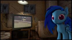 Size: 3840x2160 | Tagged: safe, artist:drakosh, oc, bat pony, sfm pony, solo