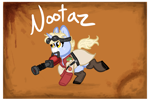 Size: 2039x1378   Tagged: safe, artist:nootaz, oc, oc:nootaz, team fortress 2