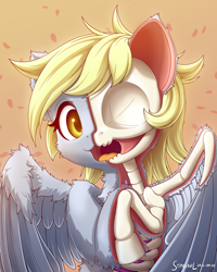 Size: 1600x2000 | Tagged: safe, artist:symbianl, derpy hooves, oc, pegasus, pony, bone, dissectibles, dissection, skeleton, solo