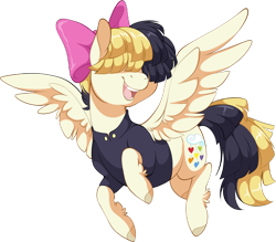 Size: 2104x1842 | Tagged: safe, alternate version, artist:denny vixie, songbird serenade, pegasus, my little pony: the movie, commission, female, mare, simple background, solo, transparent background