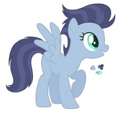 Size: 3200x2900 | Tagged: safe, artist:magicuniclaws, oc, pegasus, pony, female, mare, offspring, parent:night glider, parent:soarin', simple background, solo, transparent background