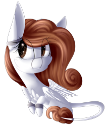 Size: 2061x2436 | Tagged: safe, artist:mediasmile666, oc, oc only, pegasus, pony, art trade, female, mare, simple background, solo, transparent background
