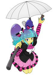 Size: 1668x2224 | Tagged: safe, artist:batipin, pixel pizazz, equestria girls, simple background, solo, transparent background